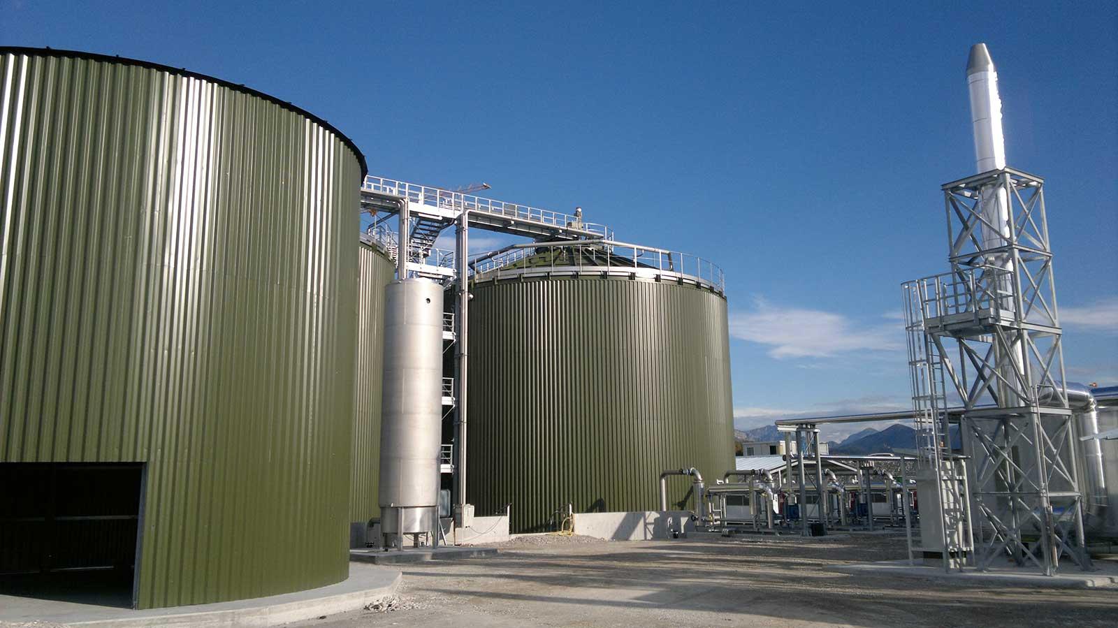 Σταθμοί Παραγωγής Βιοαερίου